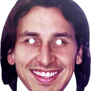 Pahvinen Zlatan-naamari