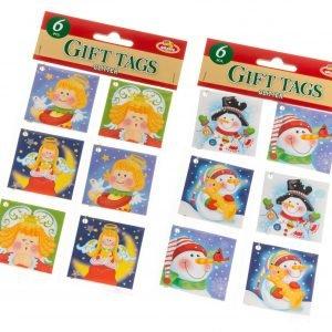 Pakettikortti Lastenaiheet 6 Kpl