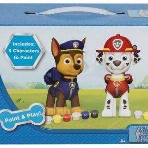 Paw Patrol Paint Your Own Figures 3 kpl