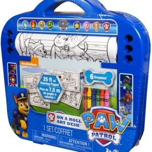 Paw Patrol Piirustussetti On a Roll Art Desk