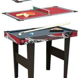 Pelipöytä 3-in-1 Punainen