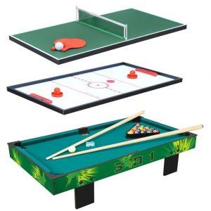 Pelipöytä 3-in-1 Vihreä
