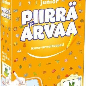 Piirrä Ja Arvaa Junior Lautapeli