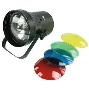 Pin spot värilamppu
