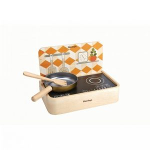 Plantoys Portable Kitchen Ekologinen Puulelu