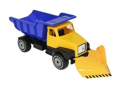 Plasto Iso kippa-auto lumiauralla Keltainen
