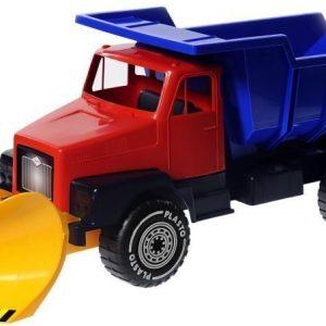 Plasto Iso kuorma-auto auralla Punainen