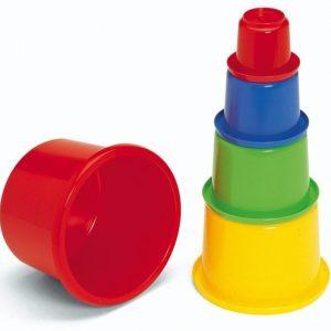 Plasto Kannelliset leikkipurkit 5 kpl