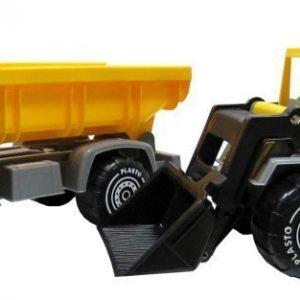 Plasto Kauhakuormaaja & kuorma-auto