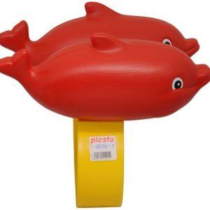 Plasto Kellukkeet Delfiini Punainen