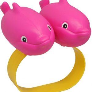 Plasto Kellukkeet Delfiini Vaaleanpunainen