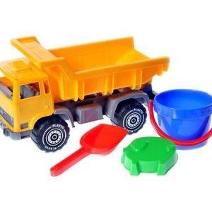 Plasto Kuorma-auto ja hiekkalelut