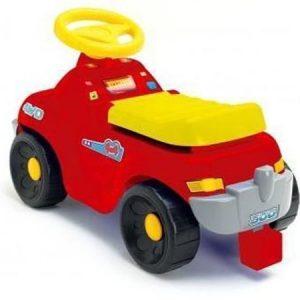 Plasto Potkuauto punainen 60 cm