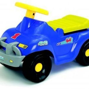 Plasto Potkuauto sininen 60 cm