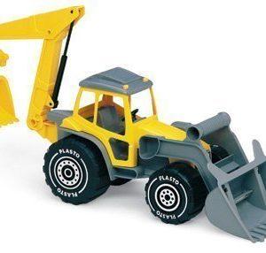 Plasto-traktorikaivuri