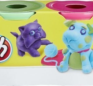 Play-Doh Classic Colours 4-pack Liila/Vihreä/Pinkki/Turkoosi