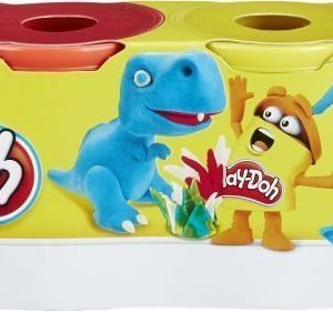 Play-Doh Classic Colours 4-pack Sin./pun./valk./kelt.