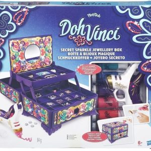 Play-Doh DohVinci Secret Sparkle Jewelry Box