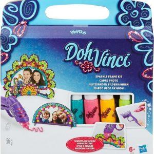 Play-Doh Muovailuvaha DohVinci Sparkle Frame Kit