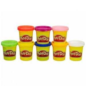 Play-Doh Rainbow Starter Pack 8-Pakkaus