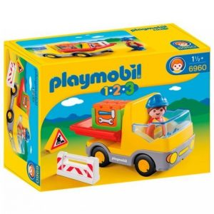 Playmobil 1.2.3 Kippiauto