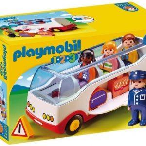 Playmobil 1.2.3 Lentokenttäbussi