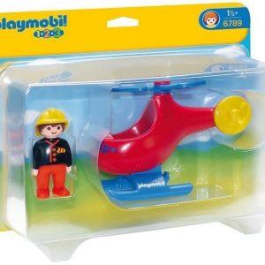 Playmobil 1.2.3 Palohelikopteri