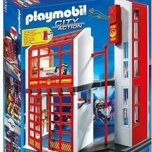 Playmobil City Action Paloasema hälytystoiminnolla