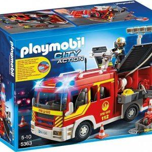 Playmobil City Action Paloauto valo- ja äänitoiminnolla
