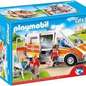 Playmobil City Life Ambulanssi valolla ja äänellä