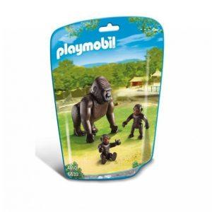 Playmobil City Life Gorilla Ja Poikaset