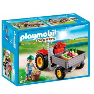 Playmobil Country Traktori Jossa Etukippilava