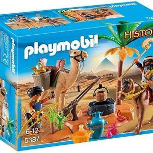 Playmobil Haudanryöstäjien leiri
