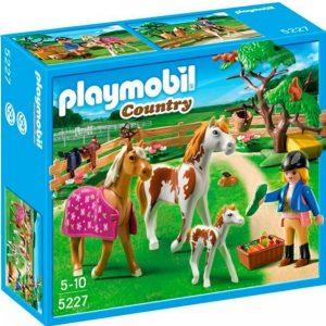 Playmobil Hevoshaka Ja Hevosperhe