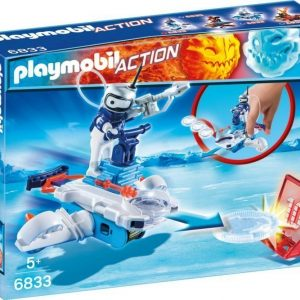 Playmobil Icebot ja disc shooter