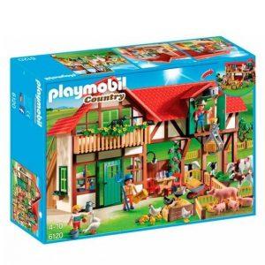 Playmobil Iso Maatila Ja Talo