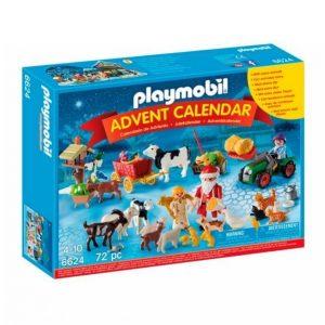 Playmobil Joulukalenteri Joulu Maatilalla