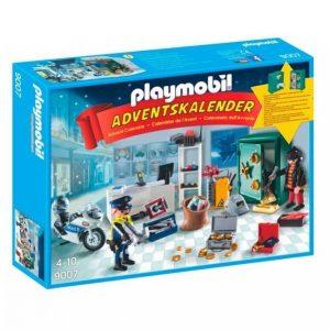 Playmobil Joulukalenteri Poliisi Ja Murtovaras