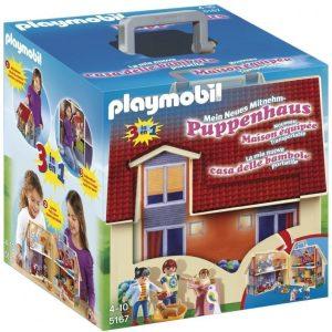 Playmobil Kaupunki Kannettava nukketalo