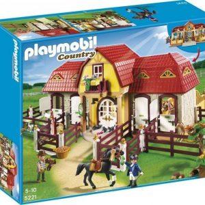 Playmobil Maatila Suuri hevostila