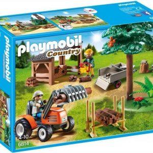 Playmobil Metsuri ja traktori