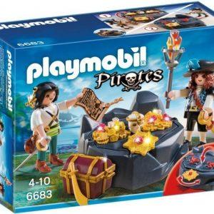 Playmobil Pirates Merirosvojen aarrekätkö