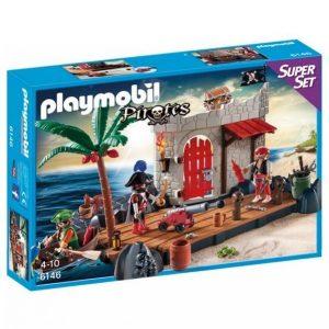 Playmobil Pirates Merirosvolinnake