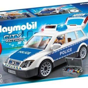 Playmobil Poliisiauto valo- ja äänitoiminnolla