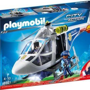 Playmobil Poliisihelikopteri LED-valolla