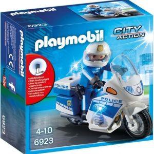 Playmobil Poliisimoottoripyörä LED-valolla