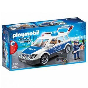 Playmobil Poliisipartio Jossa Ääni Ja Valo