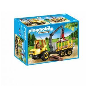 Playmobil Puunkeräysauto Jossa Nosturi