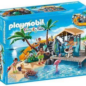 Playmobil Saaren mehubaari ja liukumäki