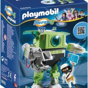 Playmobil Super 4 Cleano Robot
